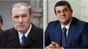 Լևոն Տեր-Պետրոսյանն իր առանձնատանը հյուրընկալել է Արցախի հանրապետության նախագահ Արայիկ Հար...