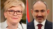 Լիտվայի վարչապետը շնորհավորել է Նիկոլ Փաշինյանին վարչապետի պաշտոնում նշանակվելու կապակցութ...