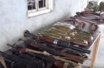 Ոստիկանները մեծ քանակի ռազմամթերք են հայտնաբերել Արշալույսի տներից մեկում