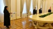 Նախագահական նստավայրում տեղի է ունեցել Լոռու մարզի առաջին ատյանի դատարանի դատավոր Լուսինե ...