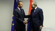 Մակրոնը Փաշինյանին շնորհավորել է ՀՀ վարչապետի պաշտոնին նշանակվելու կապակցությամբ և բարձր գ...