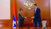 Հայաստանն Արցախի սոցիալական անվտանգության երաշխավորն է. Մեսրոպ Առաքելյանն ու Մանե Թանդիլյա...