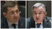 ՄԱԿ-ում ՀՀ մշտական ներկայացուցիչը նամակ է ուղղել ՄԱԿ Գլխավոր քարտուղարին