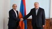 Արմեն Սարգսյանը հանդիպել է Էդմոն Մարուքյանի հետ (տեսանյութ)