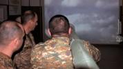 5-րդ զորամիավորման հակաօդային պաշտպանության հրամանատարական կետի անձնակազմի հետ անցկացվել ե...