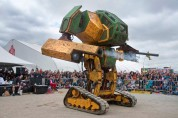ԱՄՆ-ում հսկայական մարտական ռոբոտ են ստեղծել (տեսանյութ)
