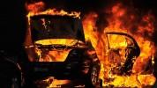 «Հայրենիք» առևտրի տան մոտակայքում ավտոմեքենա է այրվել