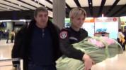 Երեք ամսական երեխային ոստիկանները Ռուսաստանից տեղափոխել են Հայաստան (տեսանյութ)