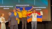 Հովհաննես Ծառուկյանը աջ և ձախ ձեռքով երկու մեդալ է նվաճել բազկամարտի Եվրոպայի առաջնություն...
