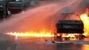 Վանաձոր-Ալավերդի ավտոճանապարհին ավտոմեքենա է այրվել