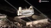 Արարատի մարզում․ 42-ամյա վարորդը 06-ով, մի քանի պտույտ շրջվելով, գլխիվայր հայտնվել է երթև...