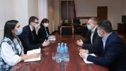 Մեսրոպ Առաքելյանը հանդիպել է Իզմիրլյան հիմնադրամի հայաստանյան գրասենյակի տնօրենի հետ