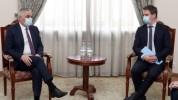 Փոխվարչապետ Մհեր Գրիգորյանն ընդունել է Ֆրանսիայի դեսպանին