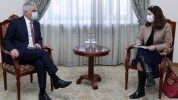 Փոխվարչապետ Մհեր Գրիգորյանն ընդունել է ՎԶԵԲ տարածաշրջանային տնօրենին