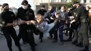 Մինսկում բողոքի երթի ժամանակ մոտ 100 մարդ է ձերբակալվել