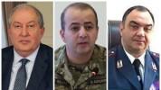 Նախագահ Արմեն Սարգսյանը հեռախոսազրույցներ է ունեցել ԱԱԾ և Ոստիկանության պետերի հետ