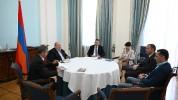 Արմեն Սարգսյանն ընդունել է էկոնոմիկայի նախարարի պաշտոնակատար Վահան Քերոբյանին FAST հիմնադր...