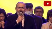 Փաշինյանը ելույթի ժամանակ արտասվեց (տեսանյութ)