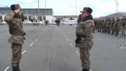 3-րդ զորամիավորման զորամասերից մեկում նորակոչիկ զինծառայողների հետ անցկացվել են շարային պա...