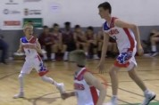 12-ամյա կանադացի բասկետբոլիստը 2 մետրից ավելի հասակ ունի և կարող է գնդակը զամբյուղն ուղարկ...