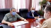 ՀՀ ԶՈՒ ԳՇ պետն ընդունել է ՌԴ դեսպանության ռազմական կցորդին