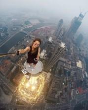 Աշխարհի ամենավտանգավոր սելֆիները՝ ռուս աղջկա մասնակցությամբ (ֆոտոշարք)