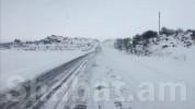 Հայաստանի 5 մարզերում ձյուն է տեղում, Վարդենյաց լեռնանցքում մերկասառույց է․ ԱԻՆ