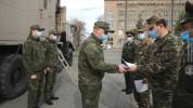 ՀՀ պաշտպանության նախարարի հրամանով պարգևատրվել են ՌԴ ՊՆ ՌՔԿՊ զորքերի մասնագետները (լուսանկ...