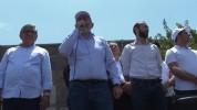 Նիկոլ Փաշինյանը թիմակիցների հետ Գորիսում է (ուղիղ միացում)