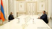 Վարչապետը հանդիպում է ունեցել ՍԴ նորընտիր նախագահի հետ
