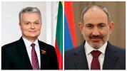 Լիտվայի նախագահը շնորհավորել է Փաշինյանին