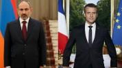 Նիկոլ Փաշինյանը հեռախոսազրույց է ունեցել Ֆրանսիայի նախագահ Էմանուել Մարկոնի նետ
