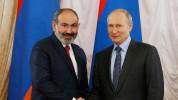 Պուտինը շնորհավորել է Նիկոլ Փաշինյանին