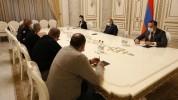 Քիչ առաջ ավարտվեց վարչապետ Նիկոլ Փաշինյանի հանդիպումը ժամկետային զինծառայողների ընտանիքներ...