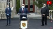 Նիկոլ Փաշինյանի ճեպազրույցը՝ Արթուր Ասոյանի և կորոնավիրուսից ապաքինված քաղաքացու մասնակցու...