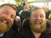 Երբ ինքնաթիռում պատահաբար հանդիպում ես նմանակիդ. անհավանական պատմություն (լուսանկարներ)