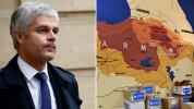 Թուրքերին զայրացրել է, որ ֆրանսիացի գործիչը կիսվել է պատմական Հայաստանի քարտեզով․ Ermeniha...