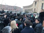 Ռոբերտ Քոչարյանի աջակիցները բողոքի ակցիա են իրականացնում. ուղիղ