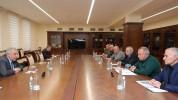 ՀՀ պաշտպանության նախարարն ընդունել է ԵԿՄ վարչության անդամներին