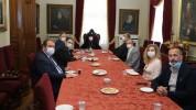 Պոլսո հայոց պատրիարք Մաշալյանը հանդիպում է ունեցել պոլսահայ լրագրողների հետ