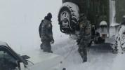 Մ-2 ավտոճանապարհի Երևան-Մեղրի հատվածում արգելափակումից դուրս են բերվել մարդատար և բեռնատար...