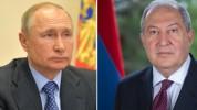 Արմեն Սարգսյանը նամակ է հղել Վլադիմիր Պուտինին՝ աջակցելու ադրբեջանական գերությունում գտնվո...