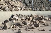 Հրազդան-Հանքավան ավտոճանապարհին քարաթափում է տեղի ունեցել