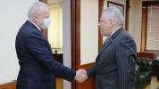 ՀՀ-ում ՌԴ դեսպանն այցելել է պաշտպանության նախարարություն