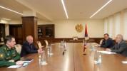 ՀՀ պաշտպանության նախարարն ընդունել է ՌԴ դեսպանին