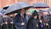 Մոսկվայում հարգանքի տուրք մատուցվեց Հայոց Ցեղասպանության զոհերի հիշատակին․ (լուսանկարներ)