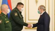 Նիկոլ Փաշինյանն ընդունել է ՌԴ ԶՈՒ գլխավոր շտաբի պետի տեղակալին