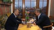 Ռոբերտ Քոչարյանը Գյումրիում հանդիպել է Կարեն Կարապետյանին
