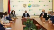 ՇՄ նախարար Ռոմանոս Պետրոսյանը աշխատակազմին է ներկայացրել նորանշանակ տեղակալներին
