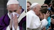 Հռոմի Պապը հազի և գրիպի նշաններ է ունեցել կորոնավիրուսով հիվանդ մարդկանց աջակցություն հայտ...